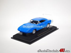 Scale model of Dodge Charger Daytona (1969) produced by Universal Hobbies.