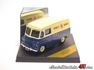 Scale model of Morris LD 150 Van BMC Service (1959) produced by Vitesse.