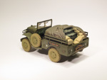 Dodge WC 51 3/4 Ton Weapons Carrier- US Army - Korean War (1950)