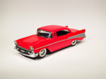 Chevrolet Bel Air Sport Coupe Red (1957)