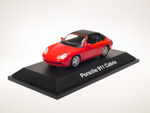 Porsche 911 Carrera Cabrio Soft top 996 Red (1999)
