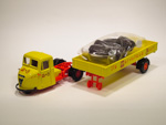 Scammell Scarab Delivery Truck Set - Mitchells & Butlers (1949)