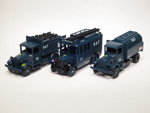Ford Model A Truck - Dennis Bus - Mack Tanker - Royal Air Force Ground Crew Support Set (1940)
