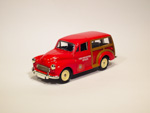 Morris Minor Traveller Woody - Fire Prevention Officer Blackwall Division (1960)